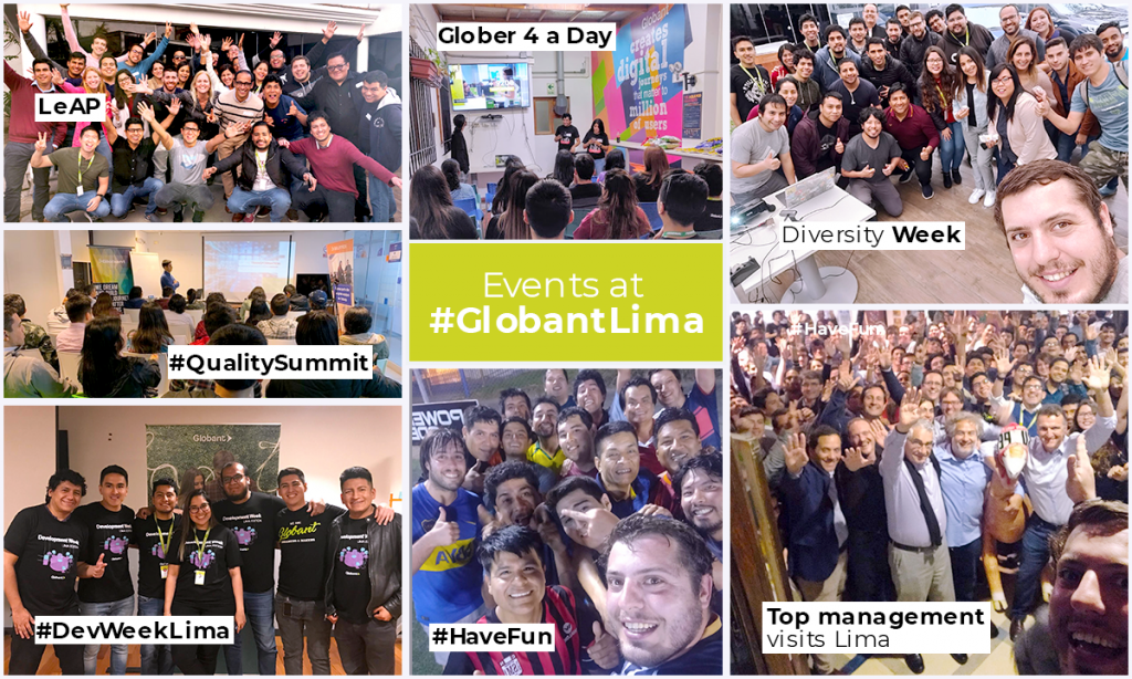 Events at Globant Lima